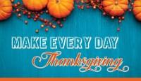 Make Everyday Thanksgiving