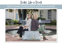 Best Friends Caroline Kittle and Becca Randall