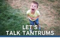 Parenting September 2021: Let's Talk Tantrums