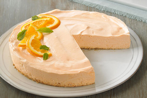 CW Low Fat Orange Dream Cheesecake